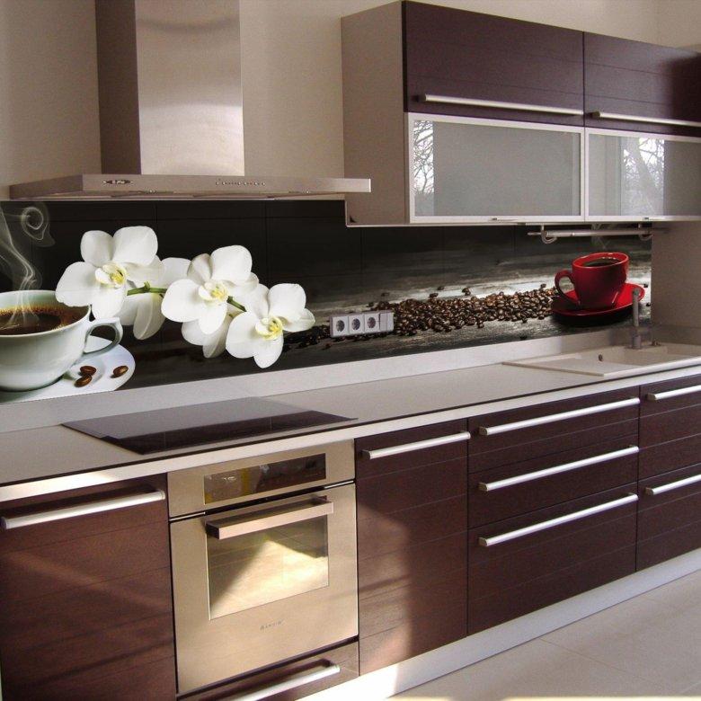 выведение фотографии фартуков для кухонных гарнитуров выполнен минималистичном