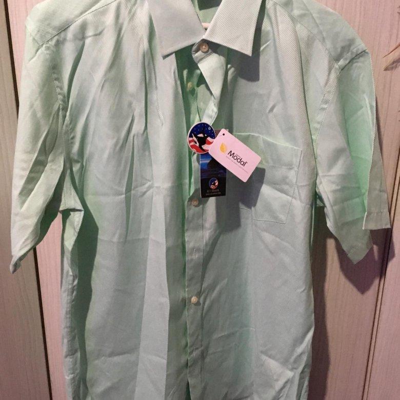a716cff7ad9 Новая мужская рубашка мятного цвета со скидкой! – купить в Владивостоке