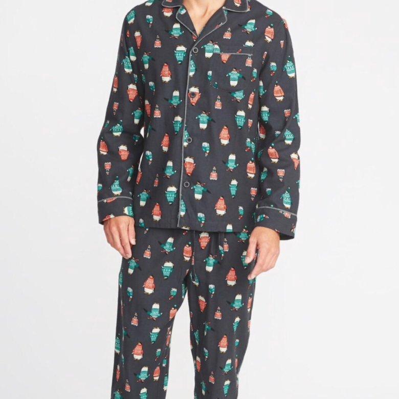f01525a6e528a Мужская фланелевая пижама Old Navy – купить в Санкт-Петербурге, цена 1 400  руб., продано 15 февраля – Домашняя одежда