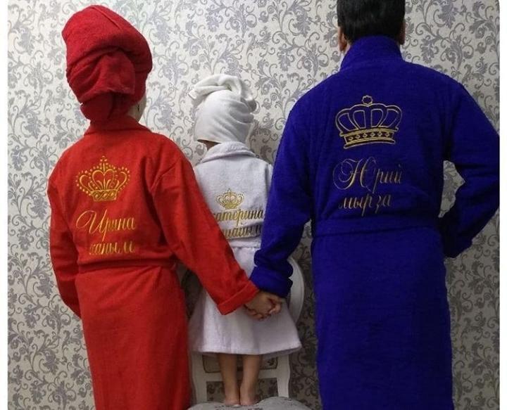 00c8ca3cce72 Халат с вышивкой, именной халат, вышивка на заказ – купить в Ростове ...