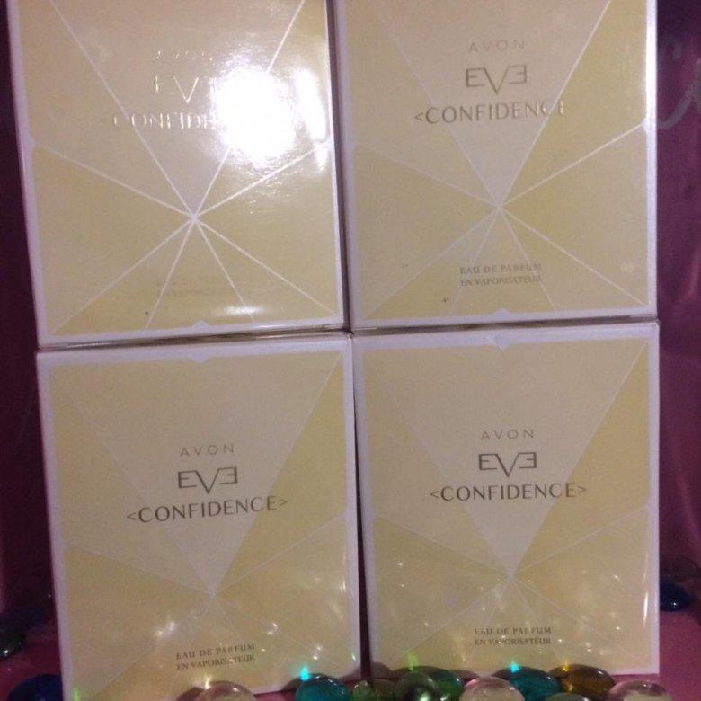 парфюмерная вода Avon Eve Confidence купить в москве цена 450 руб