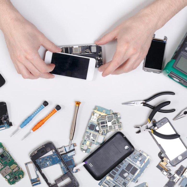 Картинка запчасти для сотовых телефонов
