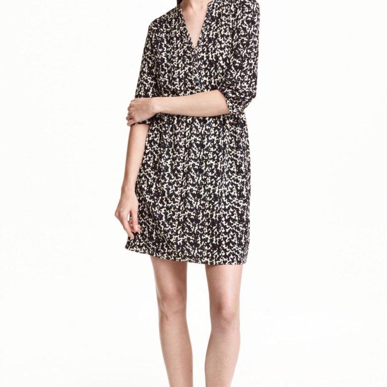 9d0ff23ee19 Платье С треугольным вырезом H M – купить в Пушкин