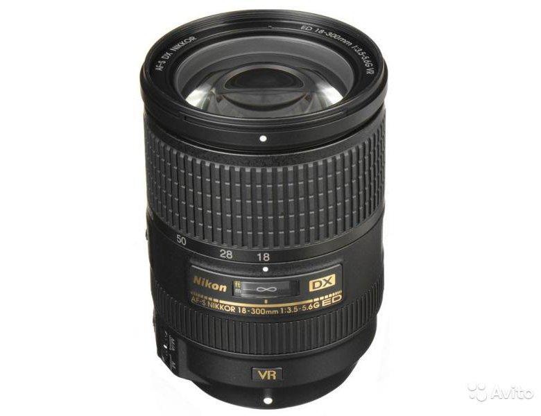 <b>Объектив Nikon 18</b>-<b>300mm</b> f3.5-6.3G ED <b>AF</b>-<b>S</b> VR DX – купить в ...