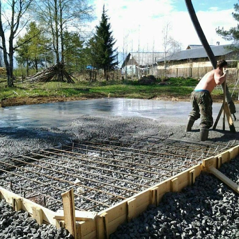 услуги по бетонированию