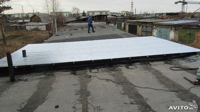 какой профлист лучше использовать на крышу гаража