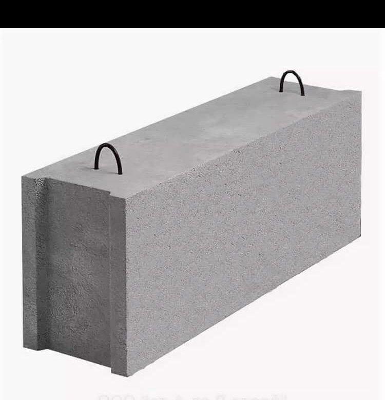 бетонные блоки виды фото брус