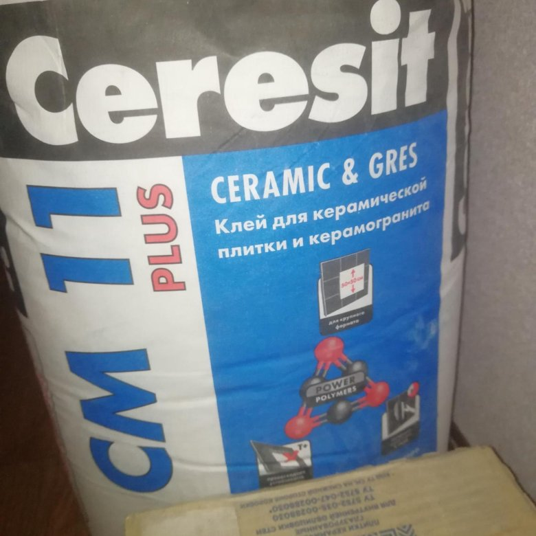 добавить цемент в плиточный клей