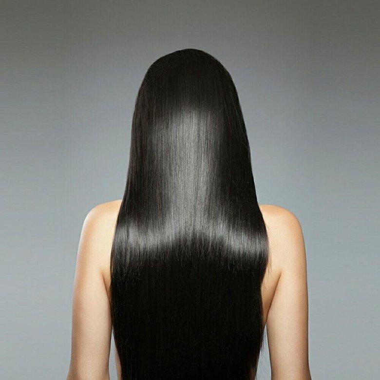 фото длинных волос со спины есть темка