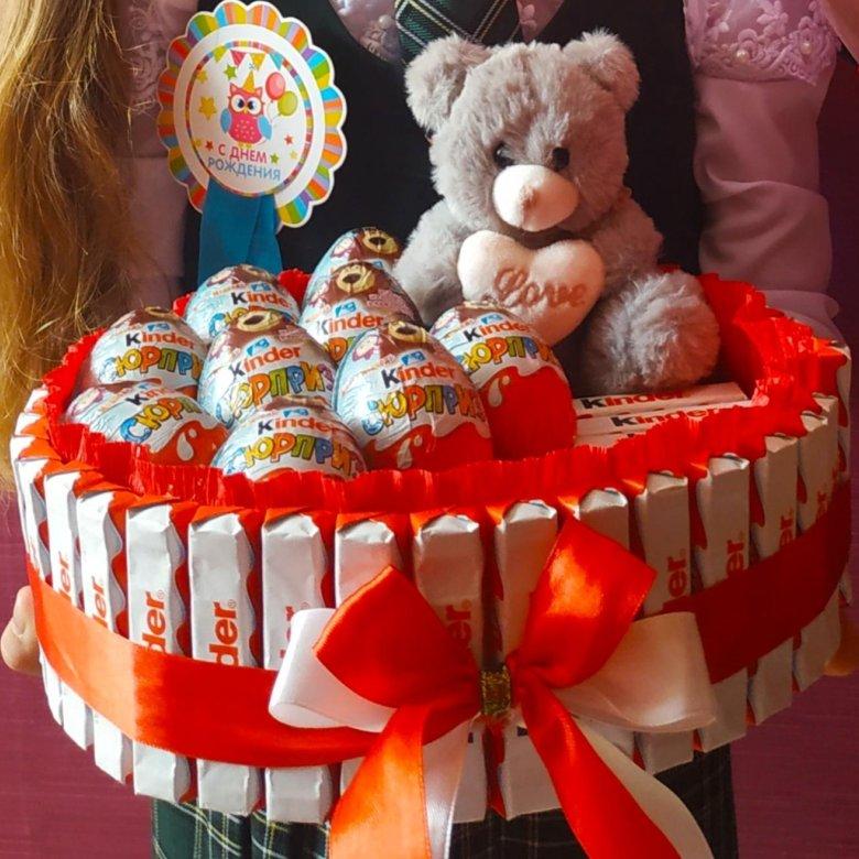 картинки с днем рождения торт из киндеров этом случае