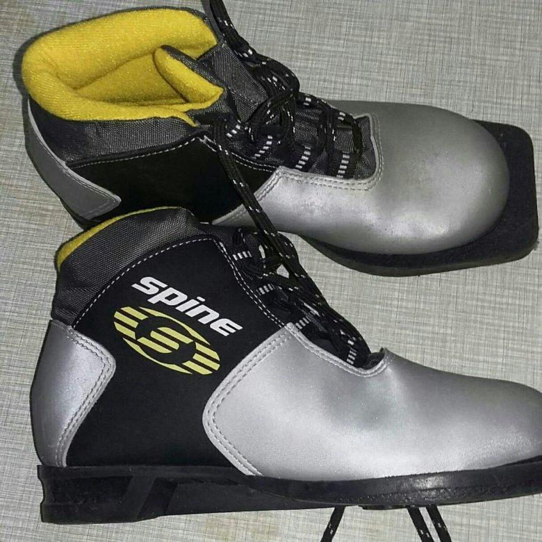 Ботинки лыжные фото вид сверху