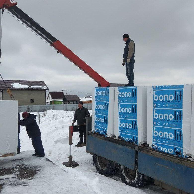 бонолит драубер доставка разгрузка