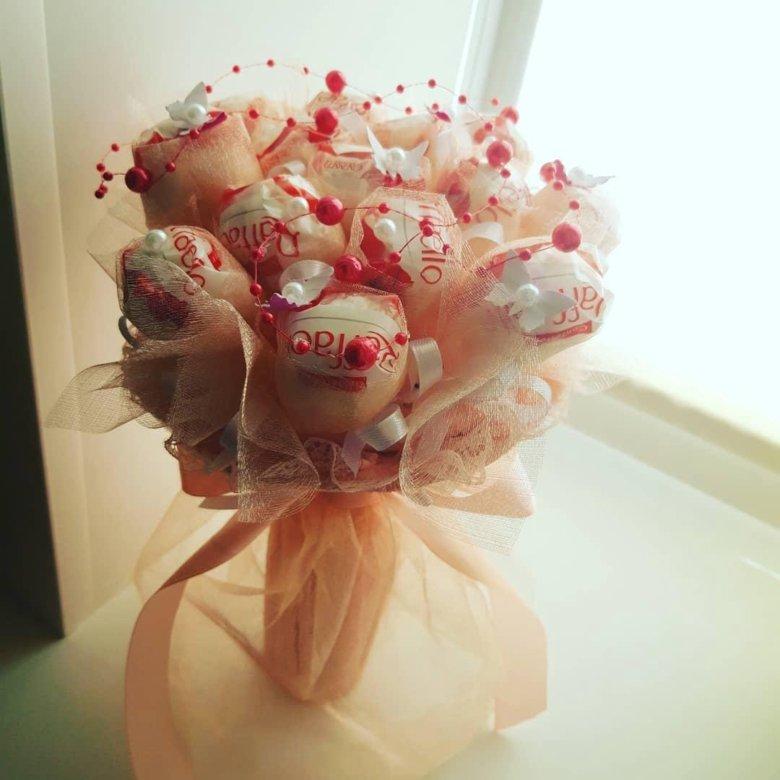 Букеты из конфет купить в казани, подарочные букет заказать
