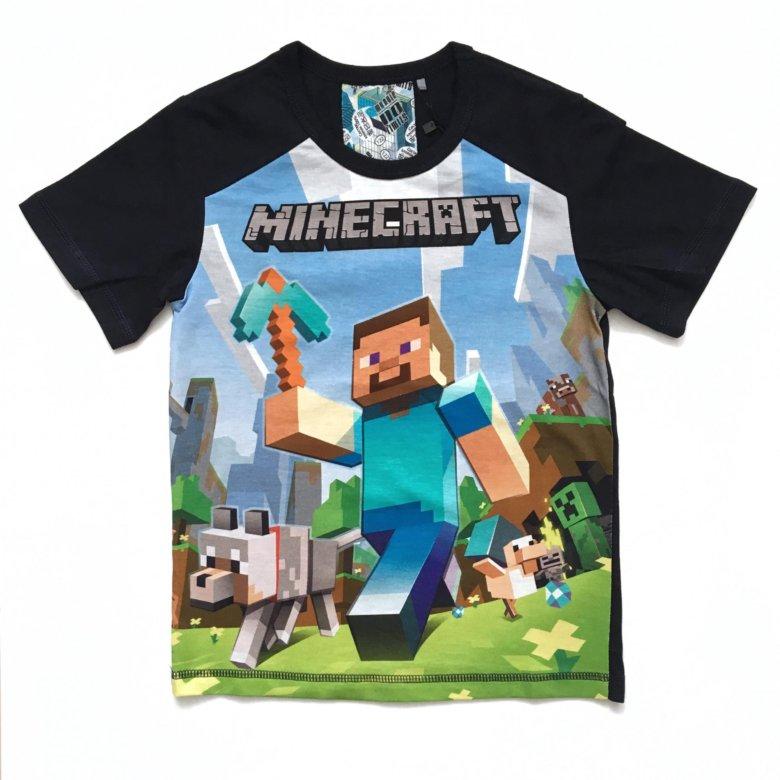 футболки с майнкрафтом в спб #10
