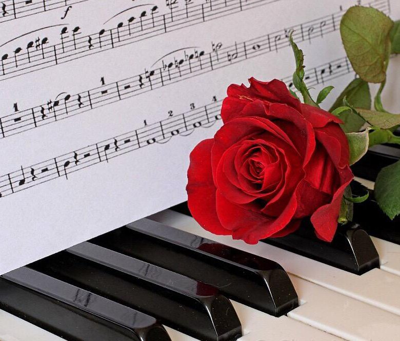 Учитель фортепиано открытка