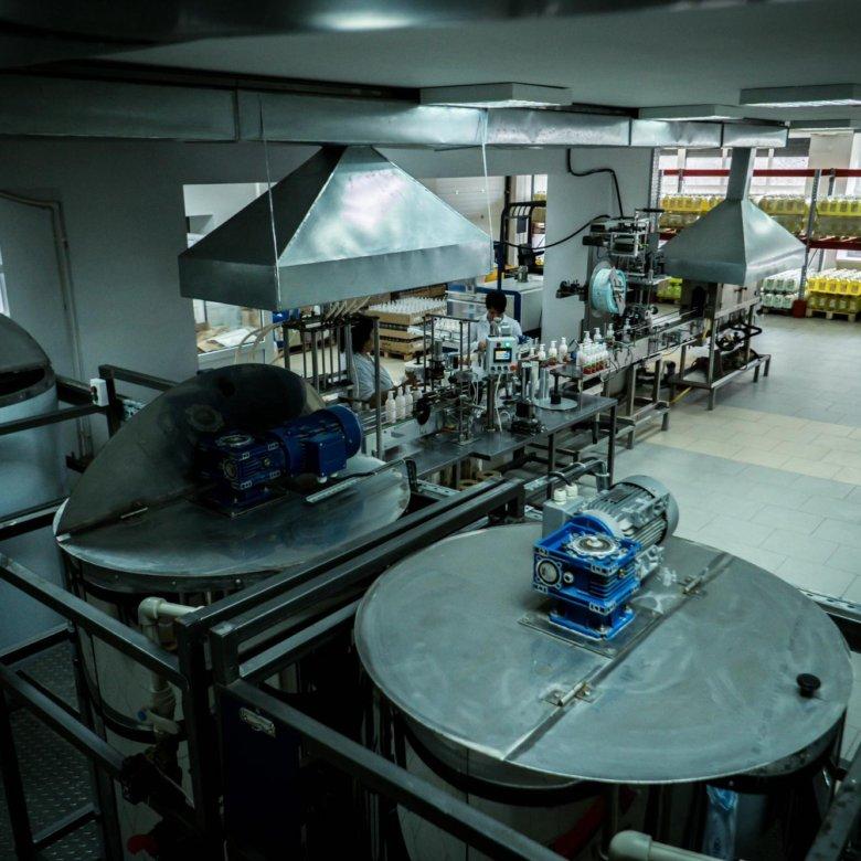 Завод по производству бытовой химии в клину