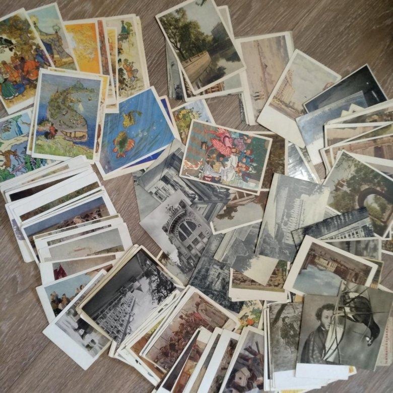 Продаю набор открыток, картинки похудении диете