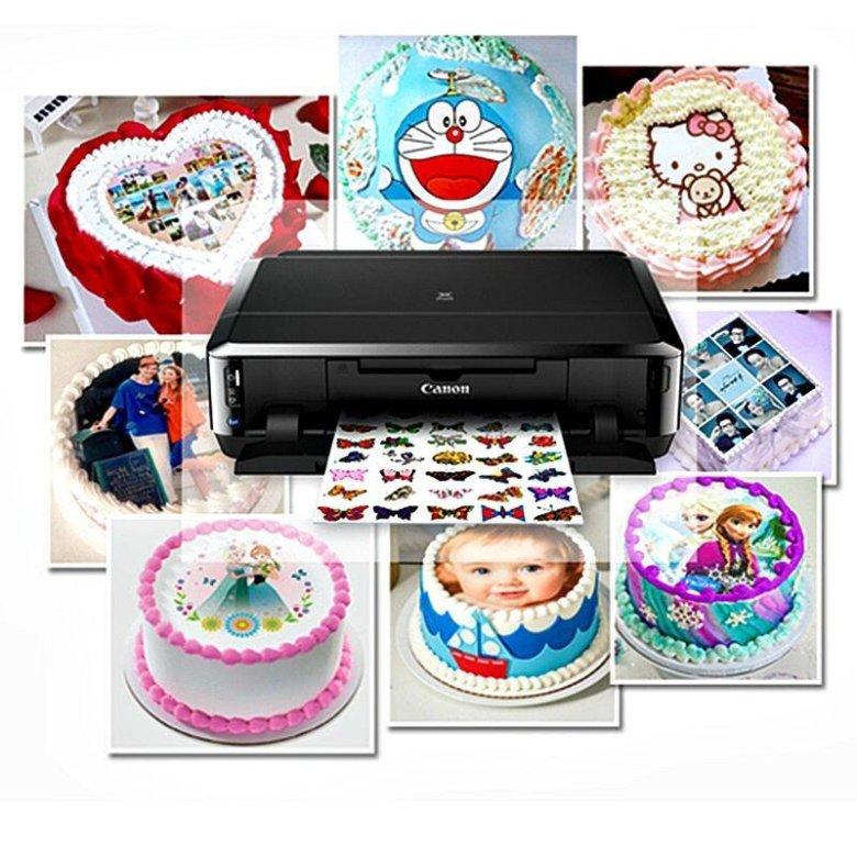 Картинки на торт на вафельной бумаге