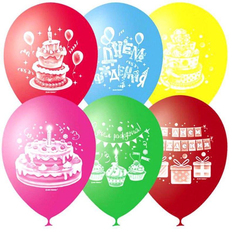 Шары в картинках на день рождения, красивые
