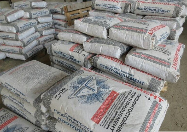 цемент мешок вес