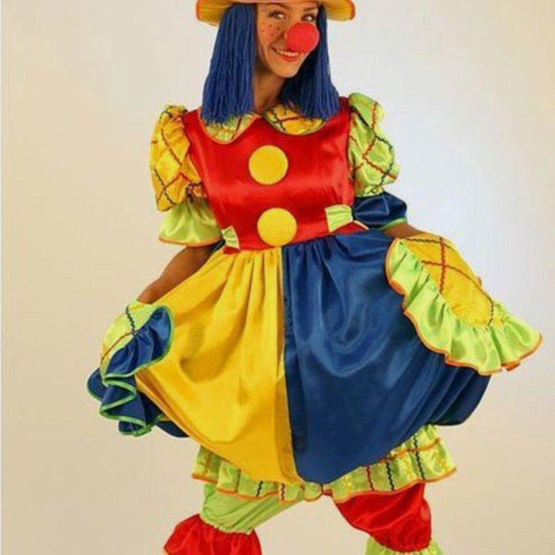 костюм клоунессы своими руками фото для