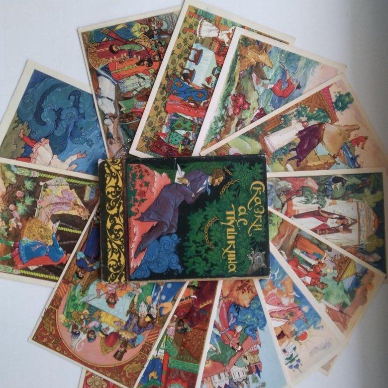 День знаний, коллекционные наборы открыток