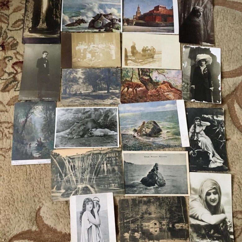 Куплю сегодня старые открытки на авито