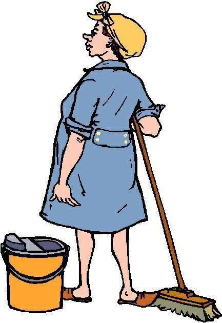 картинки работа уборщицы прикольные