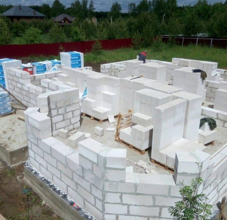 технология постройки из газобетона