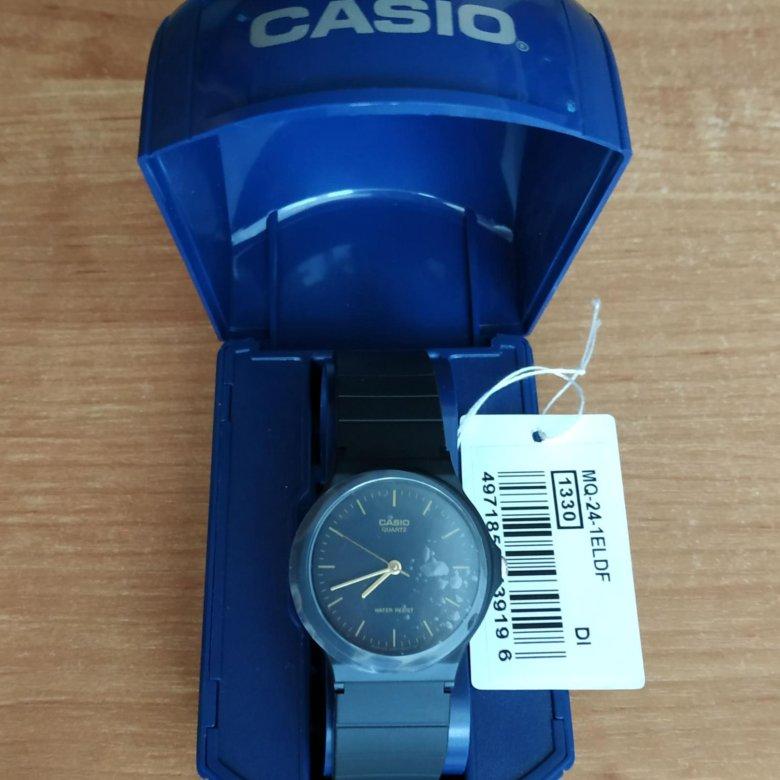 <b>Часы Casio MQ</b>-<b>24</b>-1E Оригинал Новые Документы – купить в ...