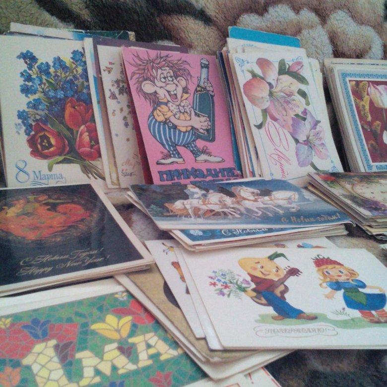 Коллекционер почтовых открыток и карточек
