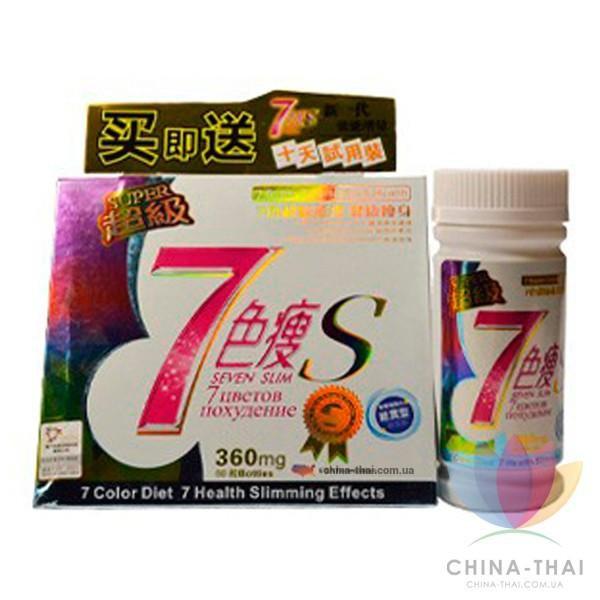7 цветов для похудения
