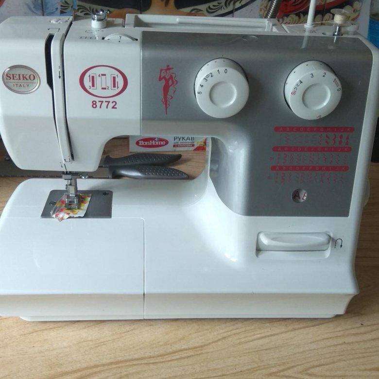 Швейная машинка сейко 8772 цена где купить все для шитья
