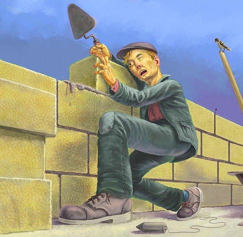 Анимация, прикольные картинки строительства