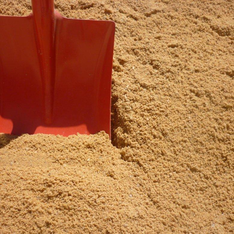 песок намывной крупный