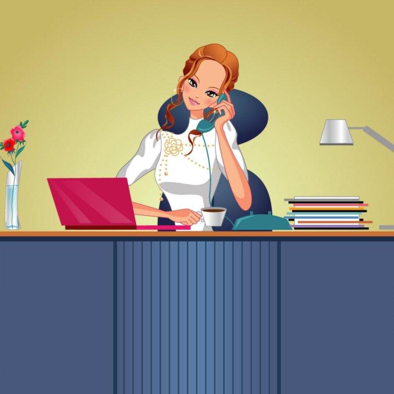 Картинки профессия секретарь