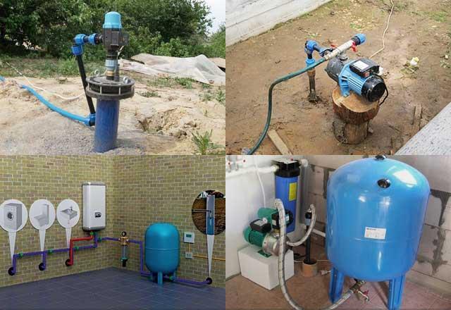 организация водоснабжения в частном доме из скважины