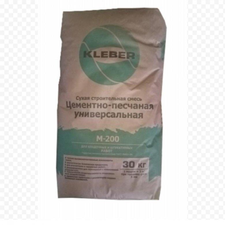 смесь цементно песчаная цпс м200