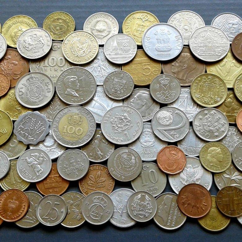 каталог иностранных монет с фото и ценами бывает так