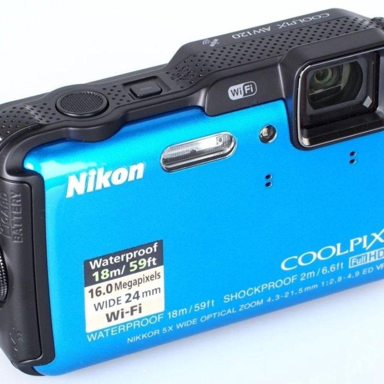 выбрать фотоаппарат никон водонепроницаемый запорожский