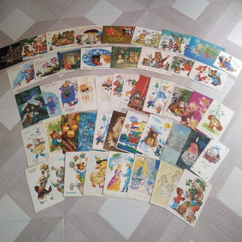 Сколько стоит открытки ссср цена