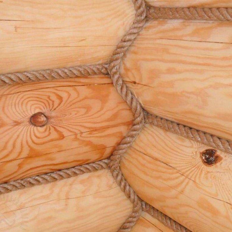 конопатить деревянный сруб