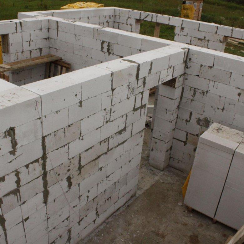 кладка стен из газосиликатных блоков цена