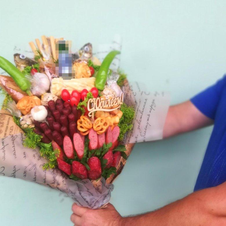 Евро цветов, съедобный букет калуга
