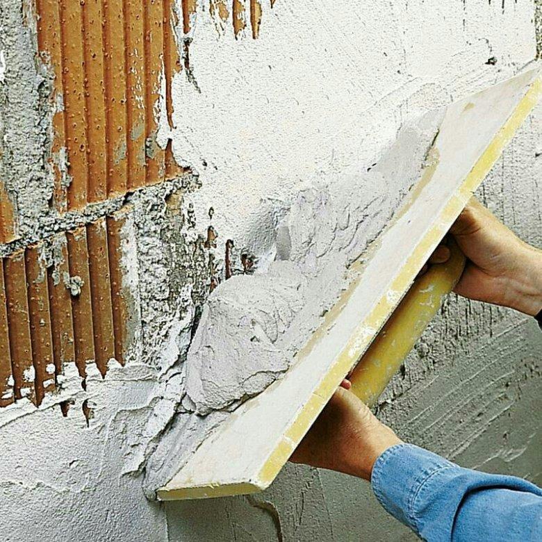 штукатурка стен раствором