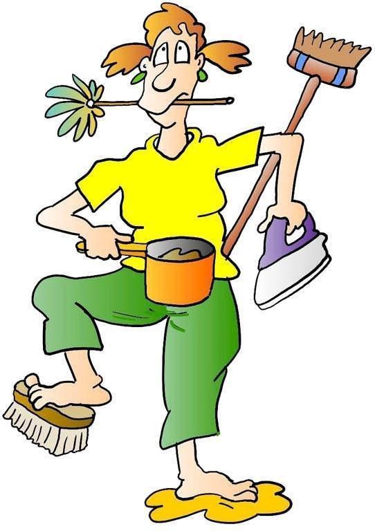 Смешные картинка про уборщиц, открытки новым