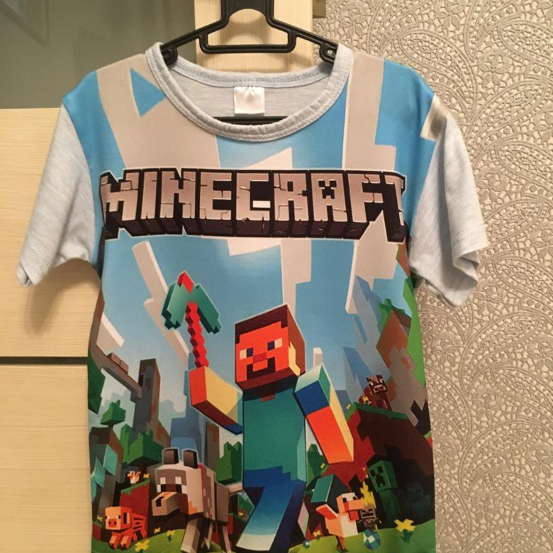 футболки с майнкрафтом в спб #3