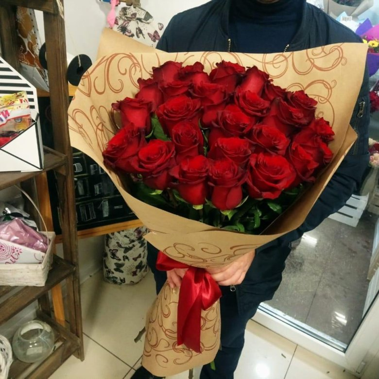 Цветами, заказ 55 роз набережные челны