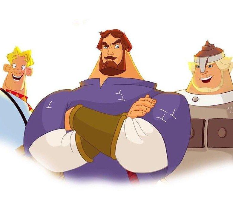 Парню, смешные картинки о трех богатырях