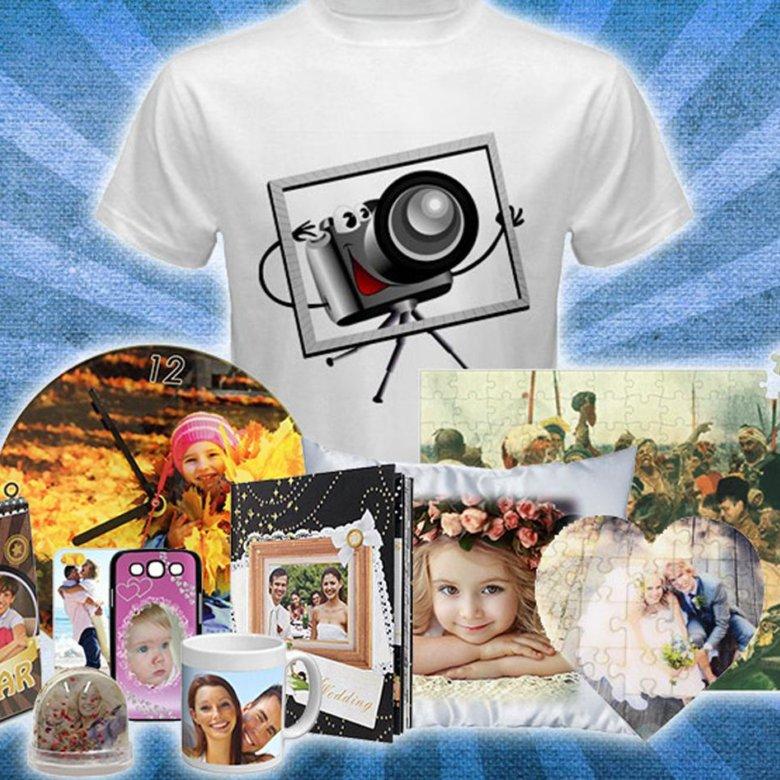 футболки и кружки с фотопечатью быстро